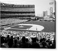Day Game At Shea Acrylic Print by Mountain Dreams