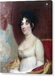 Dolley Payne Todd Madison (1768-1849) Acrylic Print by Granger