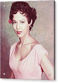Dorothy Dandridge Acrylic Print by Silver Screen