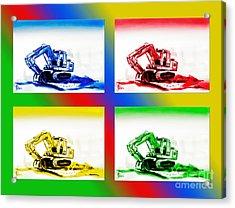 Dozer Mania II Acrylic Print by Kip DeVore