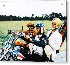 Easy Rider  Acrylic Print by Silver Screen