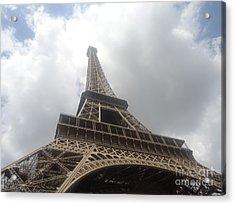 Eiffel Tower  Acrylic Print by Tashia  Summers