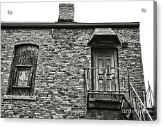 Elm St Acrylic Print by HD Connelly