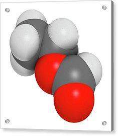 Ethylhexyl Triazone Sunscreen Molecule Acrylic Print by Molekuul