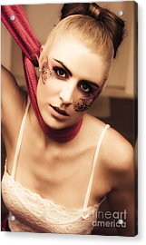 Fashion Victim Acrylic Print by Jorgo Photography - Wall Art Gallery