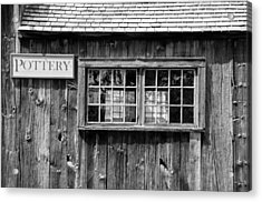Flint Hill Pottery Acrylic Print by Guy Whiteley