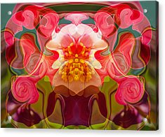 Flower Child Acrylic Print by Omaste Witkowski
