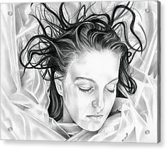 Forget Me Not - Laura Palmer - Twin Peaks Acrylic Print by Fred Larucci