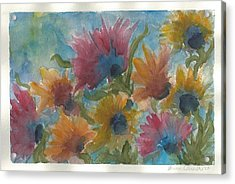 Free Spirits Acrylic Print by Anne Olivier
