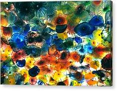 Glass Flowers Acrylic Print by Ernesto Cinquepalmi