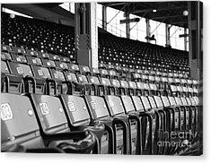 Good Seats Available... Acrylic Print by David Bearden