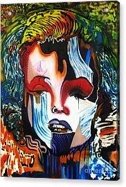 Goodbye Andy Warhol Acrylic Print by Michael Kulick