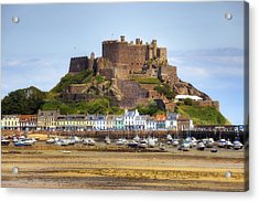 Gorey Castle - Jersey Acrylic Print by Joana Kruse