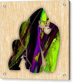 Gorilla Painting Acrylic Print by Marvin Blaine