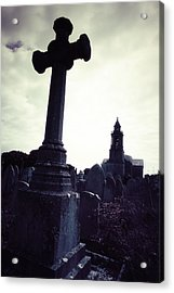 Graveyard Acrylic Print by Joana Kruse