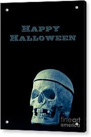 Happy Halloween Acrylic Print by Edward Fielding