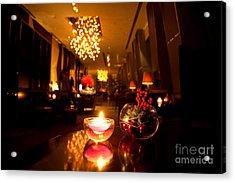 Hotel Lounge Acrylic Print by Fototrav Print