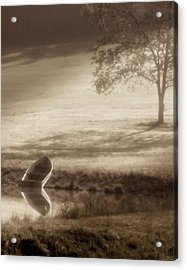 In Quiet Solitude Acrylic Print by Tom Mc Nemar