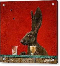 Jacks And Shots... Acrylic Print by Will Bullas