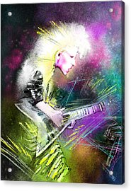 Jennifer Batten Acrylic Print by Miki De Goodaboom