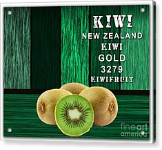 Kiwi Farm Acrylic Print by Marvin Blaine
