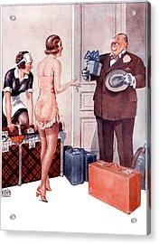La Vie Parisienne 1920s France Cc Acrylic Print by The Advertising Archives