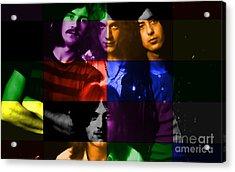 Led Zeppelin Acrylic Print by Marvin Blaine