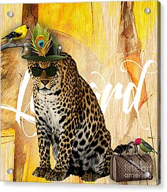 Leopard Collection Acrylic Print by Marvin Blaine