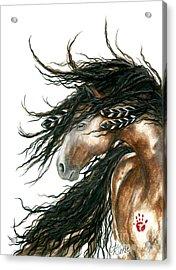 Majestic Horse Series 80 Acrylic Print by AmyLyn Bihrle