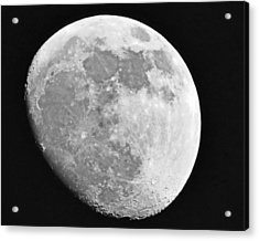 Man In The Moon Acrylic Print by Tom Gari Gallery-Three-Photography