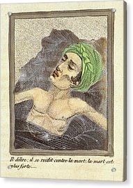 Masturbation Health Booklet Acrylic Print by British Library