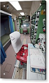 Minuteman Missile Control Room Acrylic Print by Jim West