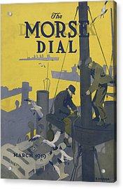 Morse Dry Dock Dial Acrylic Print by Edward Hopper