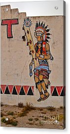 New Mexico Acrylic Print by Gregory Dyer
