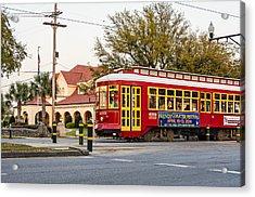 New Orleans Streetcar Acrylic Print by Steve Harrington