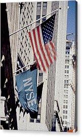 New York Stock Exchange Acrylic Print by Jon Neidert