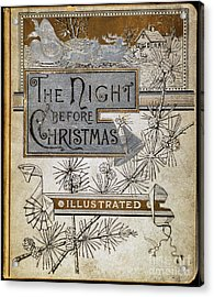 Night Before Christmas Acrylic Print by Granger