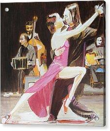 Night Rhythms Acrylic Print by Judy Kay
