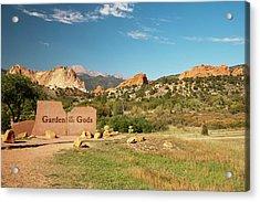 North America, Usa, Colorado, Springs Acrylic Print by Patrick J. Wall