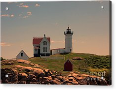 Nubble Light Acrylic Print by K Hines