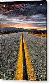 On Our Way  Acrylic Print by Ryan Weddle