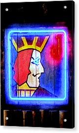 One Eyed Jacks Acrylic Print by Luis Ludzska