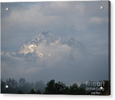 Out Of The Clouds Acrylic Print by Greg Patzer