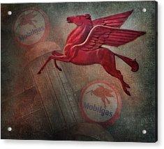 Pegasus Acrylic Print by David and Carol Kelly