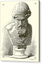 Plato  Acrylic Print by English School