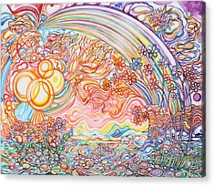 Primavera Acrylic Print by Susan Schiffer
