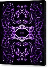 Purple Series 3 Acrylic Print by J D Owen