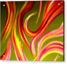 Pyromania Acrylic Print by Cyryn Fyrcyd