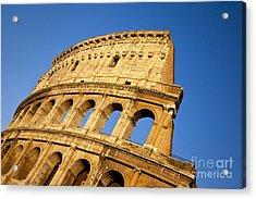 Roman Coliseum Acrylic Print by Brian Jannsen