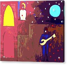 Romeo And Juliet Acrylic Print by Patrick J Murphy